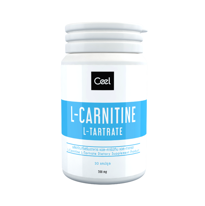 L-Carnitine, 500 mg, 60 Capsules, brand Ceel - Pure Fitness Food